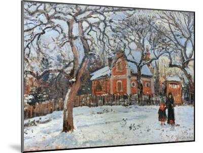 Pissarro: Trees, C1872-Camille Pissarro-Mounted Giclee Print