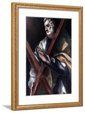El Greco: St. Andrew-El Greco-Framed Giclee Print