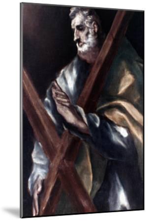 El Greco: St. Andrew-El Greco-Mounted Giclee Print
