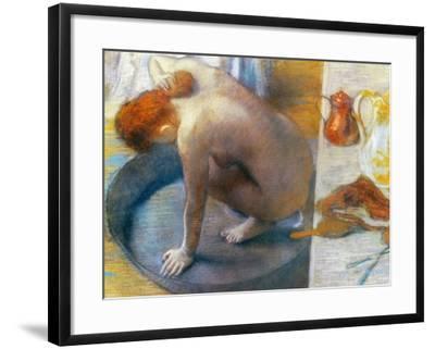 Edgar Degas: The Tub, 1886-Edgar Degas-Framed Giclee Print