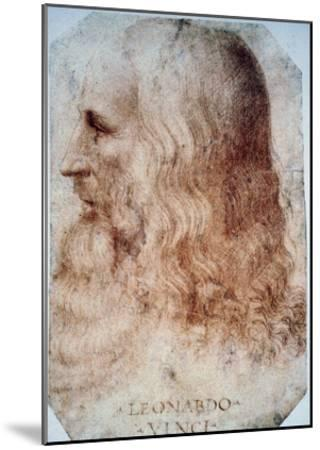 Leonardo Da Vinci-Leonardo da Vinci-Mounted Giclee Print