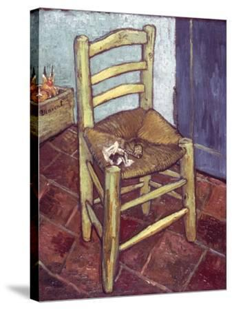 Van Gogh: Chair, 1888-89-Vincent van Gogh-Stretched Canvas Print