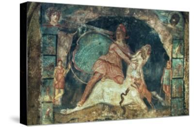 Mithras Killing The Bull--Stretched Canvas Print