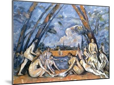 Cezanne: Baigneuses, 1905-Paul C?zanne-Mounted Giclee Print