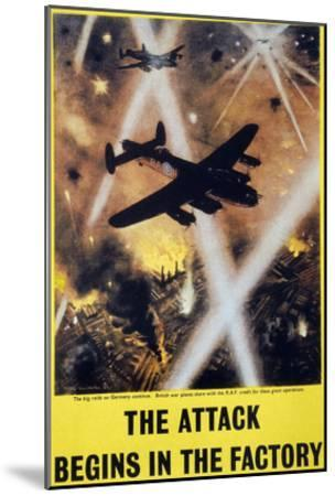 Wwii: English Poster, 1944--Mounted Giclee Print