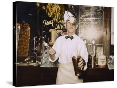 Soda Jerk, 1939-Russell Lee-Stretched Canvas Print