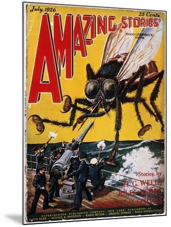 War Of The Worlds, 1927-H.G. Wells-Mounted Giclee Print
