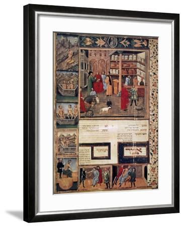Open-Air Pharmacy--Framed Giclee Print