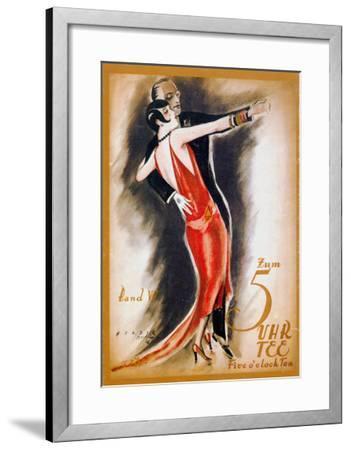 Dancing The Tango--Framed Giclee Print