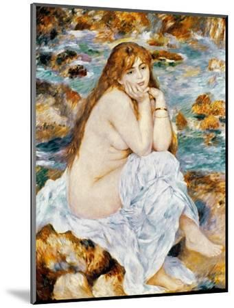 Renoir: Seated Bather, 1885-Pierre-Auguste Renoir-Mounted Premium Giclee Print