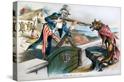 Cartoon: Panic Of 1893-Louis Dalrymple-Stretched Canvas Print