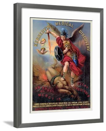 Patent Medicine Poster--Framed Giclee Print