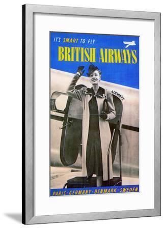 British Airways, 1938--Framed Giclee Print