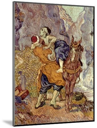 Van Gogh: Samaritan, 1890-Vincent van Gogh-Mounted Premium Giclee Print