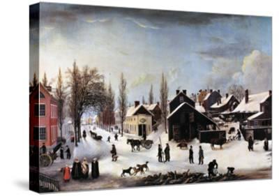 Brooklyn, C1820-Louisa Ann Coleman-Stretched Canvas Print