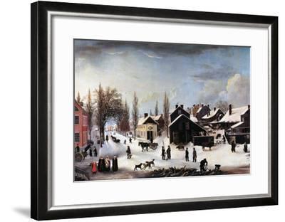 Brooklyn, C1820-Louisa Ann Coleman-Framed Giclee Print