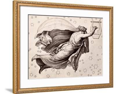 Lyre Of Orpheus-Eduard Ritter Von Engerth-Framed Giclee Print