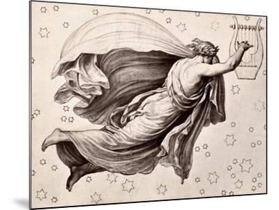 Lyre Of Orpheus-Eduard Ritter Von Engerth-Mounted Giclee Print