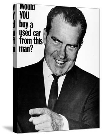Anti-Nixon Poster, 1960--Stretched Canvas Print
