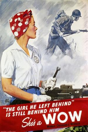 World War Ii Poster--Stretched Canvas Print