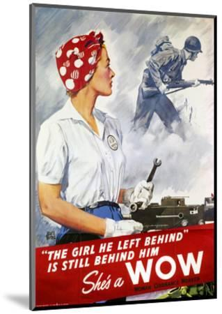 World War Ii Poster--Mounted Premium Giclee Print