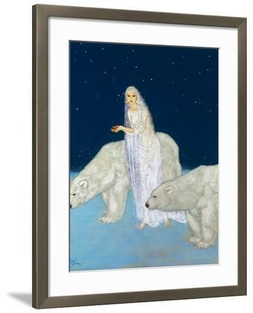 Dulac: The Ice Maiden, 1915-Edmund Dulac-Framed Giclee Print