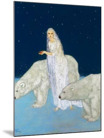 Dulac: The Ice Maiden, 1915-Edmund Dulac-Mounted Giclee Print
