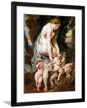Rubens: Venus, C1606-09-Peter Paul Rubens-Framed Giclee Print