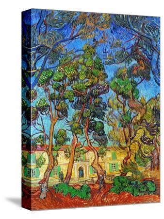 Van Gogh: Hospital, 1889-Vincent van Gogh-Stretched Canvas Print