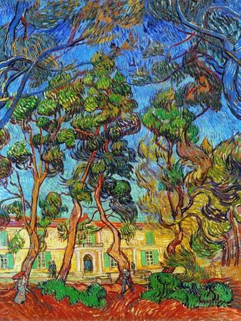 Van Gogh: Hospital, 1889-Vincent van Gogh-Premium Giclee Print