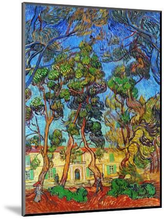 Van Gogh: Hospital, 1889-Vincent van Gogh-Mounted Premium Giclee Print