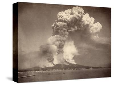 Pompeii: Mount Vesuvius--Stretched Canvas Print