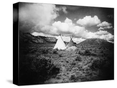 Apache Tepees, C1909--Stretched Canvas Print