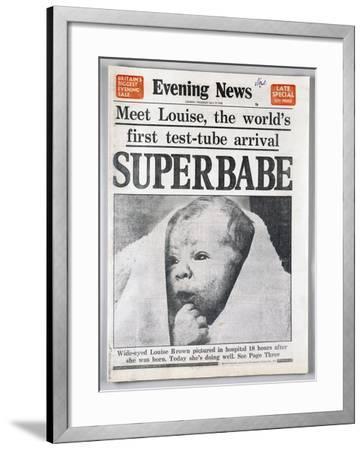 Test-Tube Baby, 1978--Framed Giclee Print