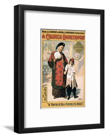 A Chinese Honeymoon--Framed Premium Giclee Print