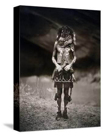 Navajo Ritual, C1904-Edward S^ Curtis-Stretched Canvas Print