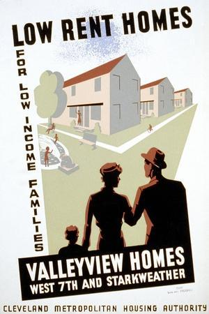 New Deal: Wpa Poster--Stretched Canvas Print