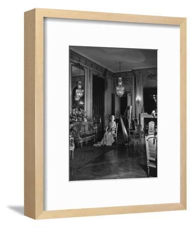 Vogue - November 1941 - Grace Wilson Vanderbilt-Cecil Beaton-Framed Premium Photographic Print