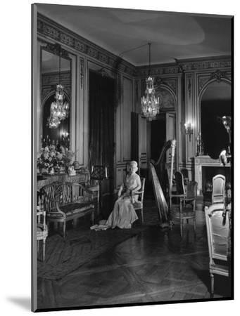 Vogue - November 1941 - Grace Wilson Vanderbilt-Cecil Beaton-Mounted Premium Photographic Print