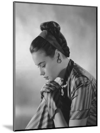 Vogue - January 1945-Frances Mclaughlin-Gill-Mounted Premium Photographic Print