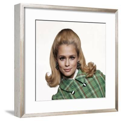 Vogue - February 1967-Bert Stern-Framed Premium Photographic Print