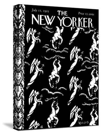The New Yorker Cover - July 11, 1925-Bertrand Zadig-Stretched Canvas Print