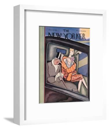 The New Yorker Cover - December 18, 1926-Ottmar Gaul-Framed Premium Giclee Print