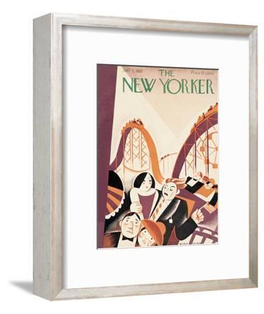 The New Yorker Cover - July 2, 1927-Victor Bobritsky-Framed Premium Giclee Print