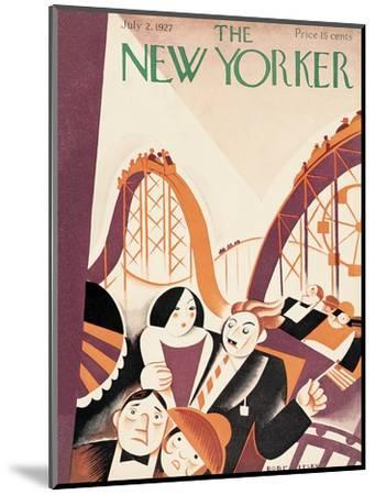 The New Yorker Cover - July 2, 1927-Victor Bobritsky-Mounted Premium Giclee Print
