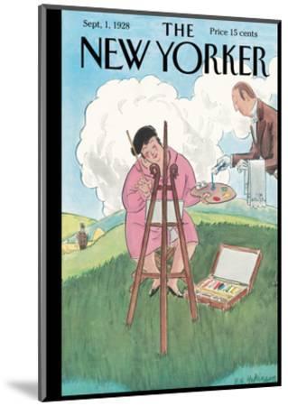 The New Yorker Cover - September 1, 1928-Helen E. Hokinson-Mounted Premium Giclee Print