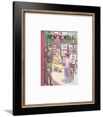The New Yorker Cover - May 29, 1937-Helen E. Hokinson-Framed Premium Giclee Print