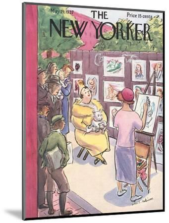 The New Yorker Cover - May 29, 1937-Helen E. Hokinson-Mounted Premium Giclee Print