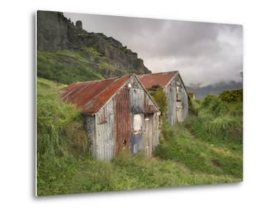 Rural Buildings, Iceland-Adam Jones-Metal Print