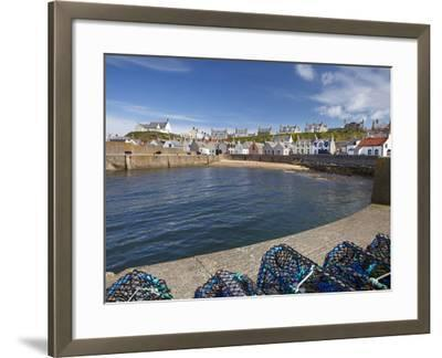 Harbour, Findochty, Moray, Scotland-David Wall-Framed Photographic Print
